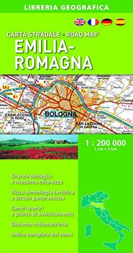 Emilia Romagna 1:200.000 (Carte stradali regionali d'Italia)