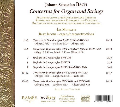Zoom IMG-2 concerti per organo e archi