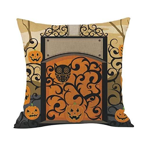 Wars Hause Zu Star Kostüm Machen - Lazzboy Halloween Kissenbezug Home Decoration Muster Lendenkissen Wurfkissenbezug Hause Auto Café Deko(H)