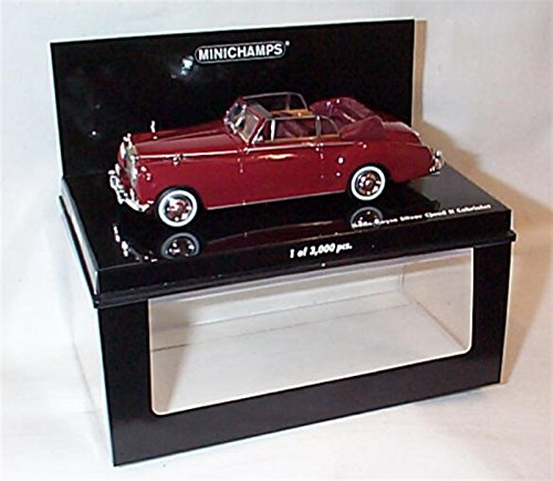 rolls-royce-silver-cloud-ii-dhc-dunkelrot-1960-modellauto-fertigmodell-minichamps-143