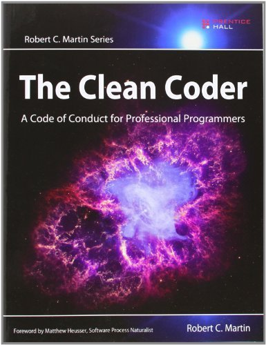 The Clean Coder: A Code of Conduct for Professional Programmers (Robert C. Martin Series) by Martin, Robert C. (2011) Paperback
