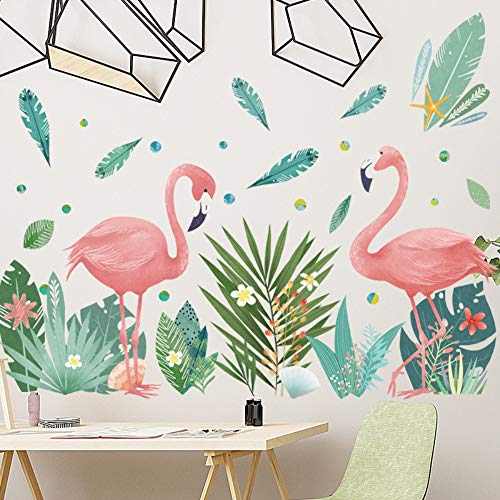 ekorations Flamingo Wand Aufkleber Schlafzimmer Malerei klein frisch ()