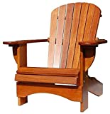 Adirondack Chair Comfort in Eiche