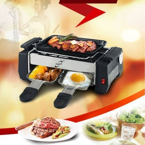 One pearl Deluxe Huan Yi Compact Electric Barbecue Grill And Tandoor  available at amazon for Rs.1299