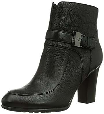 Geox D Aliha, Boots femme - Noir (Black), 35 EU