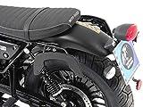 Hepco&Becker C-Bow Seitenträger - schwarz für Moto Guzzi V 9 Bobber ab Bj. 2016