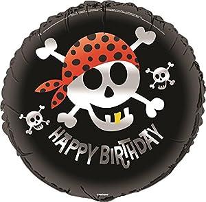 Unique Party Globo Foil de Cumpleaños Fiesta Pirata (40507)