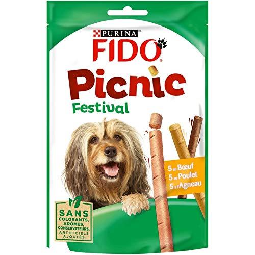 Fido - Picnic Festival 126G - Lot De 5 - Livraison Rapide en France - Prix par Lot