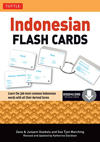 Indonesian Flash Cards: (Downloadable Audio Included) (Tuttle ...
