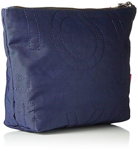 Oilily - Spell Cosmeticpouch Mhz 1, Pochette da giorno Donna Blu (Dark Blue)