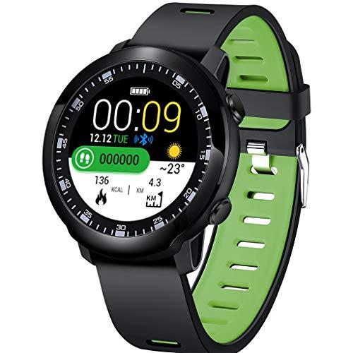 Touchscreen-Multifunktions-Schrittzähler Timing Herzfrequenz-Tracker Informationen Aufforderung Sprachanruf Pool wasserdicht intelligente Sportuhr/Kompatibel mit iOS Android-Gerät