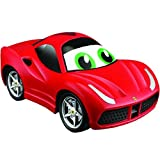 BB Junior Ferrari Lil Driver 488 GTB: Ferngesteuertes Auto LaFerrari ab 12 Monaten, Steuerung durch R/C Infrarot-Fernbedienung, rot (16-82003)