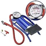 #9: Clothsfab 2018 Portable High Air Pressure Heavy Compressor Foot Pump Air Pump Novel Style Air Foot Pump for Bike, Car, Bicycles