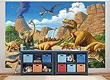 GREAT ART Fototapete Dinosaurier - ...