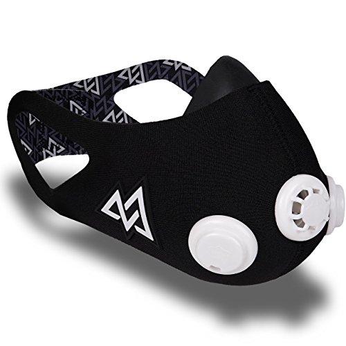 Training Mask Elevation 2.0 - Máscara para Entrenamiento Negro Negro...