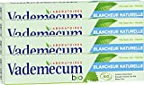 Vademecum - Dentifrice - Bio Blancheur Naturelle - Tube 75 ml - Lot de 4