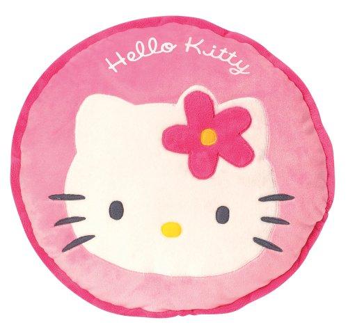 Hello Kitty - 711239 - Ameublement et Décoration - Coussin Brodé - Rond