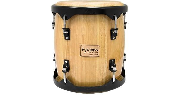 28 cm Tambora con finiture di legno naturale Tycoon Percussion TTA-551BN