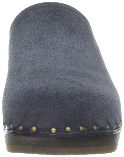 Berkemann 00404 Velours Toeffler, Zoccoli donna Blu