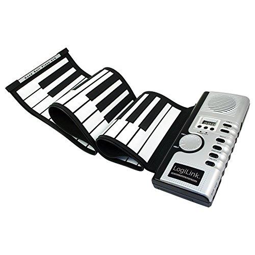 Logilink Silikon USB Midi Piano Keyboard aufrollbar
