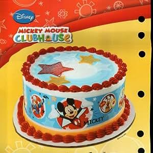 Mickey Mouse Designer Prints Edible Cake Image