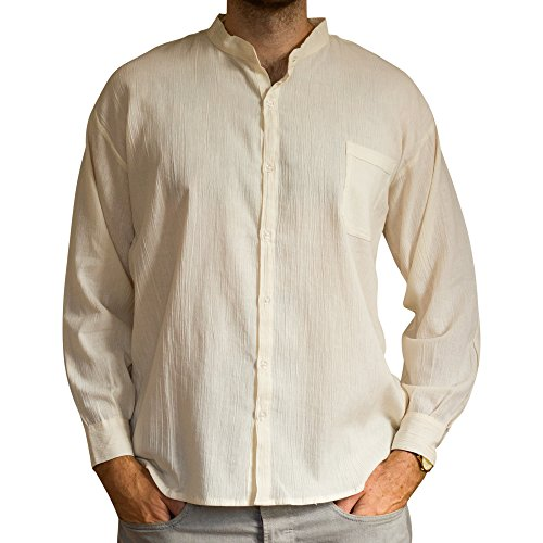 cotton-summer-shirt-ethically-traded-long-sleeves-tela-hindu-from-ecuador-made-for-tumi-light-weight