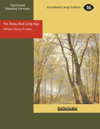 Far Away And Long Ago [EasyRead Large Edition] Cover Image