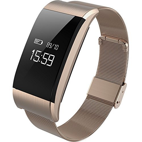 Multifunction Fitness Tracker Smart WristbandHeart Rate And Sleep Monitor Led Pedometer Waterproof Call And Massage Reminder Bluetooth Bracelet B Diameter25cm9inch