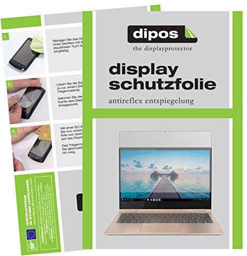 dipos I 2X Schutzfolie matt passend für Lenovo Yoga 730-13IKB (13.3 Zoll) Folie Bildschirmschutzfolie