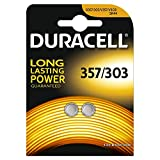 Duracell Specialty Type 357/303 Silver Oxide Battery (Pack of 2)
