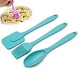 3pcs/set cucchiaio spatola in silicone pennello da cucina utensili da cucina pasticceria cottura miscelazione strumento per la cucina