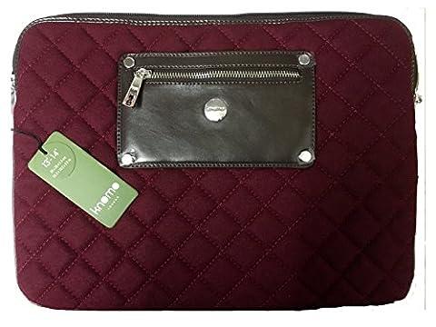 Knomo Luxe Universel Ordinateur portable, Tablette, Notebooks Manchette, Portefeuille, Enveloppe, Deuxième sac de couverture de peau (13