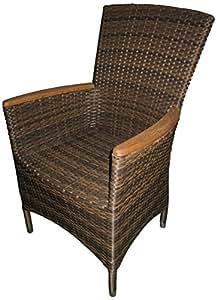 geflechtsessel luzern bi color braun teakarm brema 750. Black Bedroom Furniture Sets. Home Design Ideas