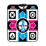 G'z Dance Mat Dance Pad Non-Slip Dancing Blanket Dancing Step Pads to Pc with Usb, A, 1