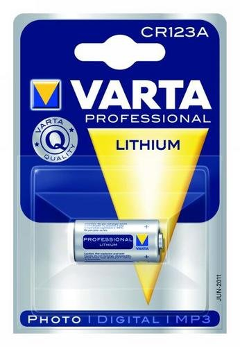 Rechange lithium vARTA cR 3 volts, 123A, sous blister