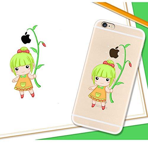 XFAYiphone 6plus Neue Modelle iPhone 6plus/iphone 6splus Hülle TPU Silikon Schutz Handy Hülle Case [Scratch-Resistant Niedliche Cartoon Malerei ] Ultra Slim Case Schutzhülle Case Cover für iPhone 6plu HXP-8