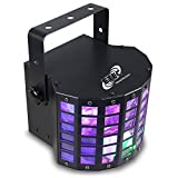 ETEC LED Derby Lichteffekt Butterfly Disco Party 9x1 Watt DMX