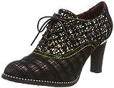 LAURA VITA Alcbaneo 05, Zapatos de Cordones Derby para Mujer, Wine, 38 EU