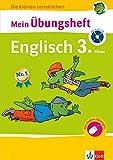 Klett Mein Übungsheft Englisch 3. Klasse: Grundschule - Buch plus Audio-CD (Die kleinen Lerndrachen)