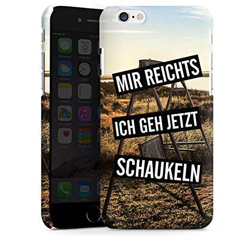 Apple iPhone X Silikon Hülle Case Schutzhülle Humor Leben Kindisch Premium Case matt