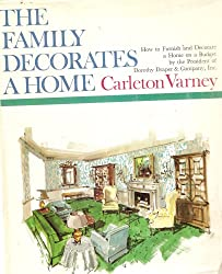 The family decorates a home