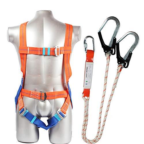 Mfztq kit di protezione anticaduta,dispositivo di buffer alpinismo cintura dicsicurezza attrezzature anticaduta arrampicata all'aperto