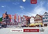 Unterwegs in Bad Urach (Wandkalender 2019 DIN A4 quer): Ein Bummel durch eine sehenswerte Stadt am Fuße der Schwäbischen Alb mit PLANER-Funktion (Geburtstagskalender, 14 Seiten ) (CALVENDO Orte)