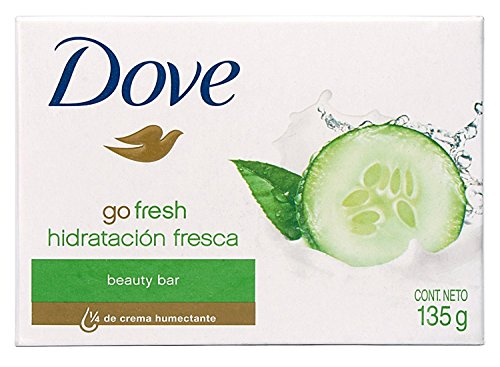Dove Beauty Bar Soap Go Fresh Cool Moisture, Cucumber And Green Tea Scent, 4....