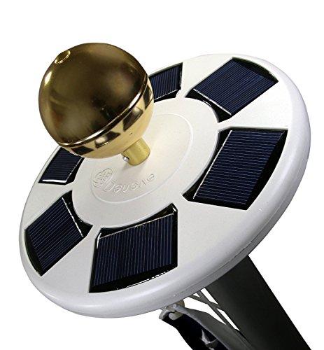Lobzon Solar-Fahnenmast mit hellem LED-Licht