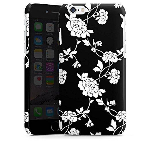 Apple iPhone 4 Housse Étui Silicone Coque Protection Fleurs Fleurs Motif Cas Premium brillant