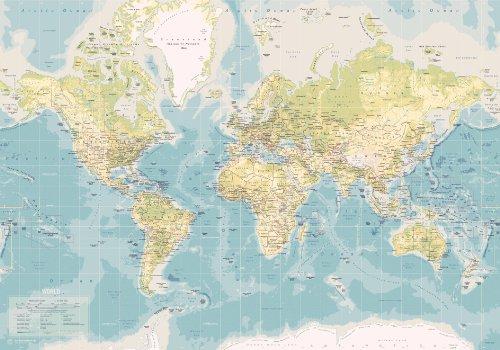 Incado al mejor precio de amazon en savemoney incado map design 1 piece fine canvas world map vintage colour gumiabroncs Choice Image