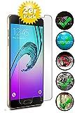 Smartphone-Equipment [2er Pack] Panzerglas für Samsung Galaxy A5 2016 Echt-Hartglas 9H, Glasfolie Schutzfolie Glas Folie Panzerfolie Display Schutz