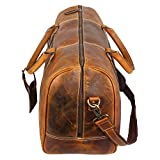 Genuine-Vintage-Leather-Travel-Duffle-Bag-Overnight-Weekend-Luggage-Carry-On-Airplanes-Underseat-Gifts-for-Men-Women-by-RUSTIC-TOWN
