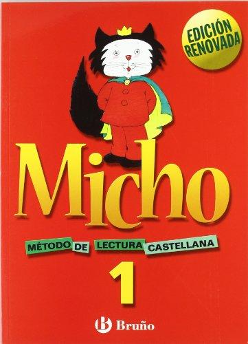 Micho 1 Método de lectura castellana - 9788421650684 por Pilar Martínez Belinchón